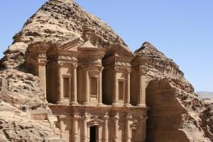 Petra - miasto wykute w skale
